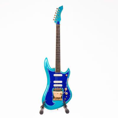 Guyatone LG-1200 Sharp 5 1982 Blue for sale