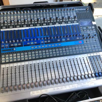 PreSonus Studio Live 24.4.2 with Case, Custom Skirt, Stand 2021 Gray/Blue/Silver