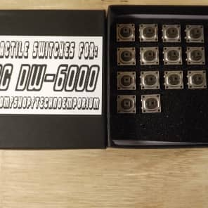 Kit of 17 ALPS ultra reliable switches for Korg DW6000