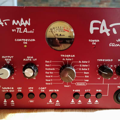 TL Audio FAT 2 Fatman Series Valve Front End