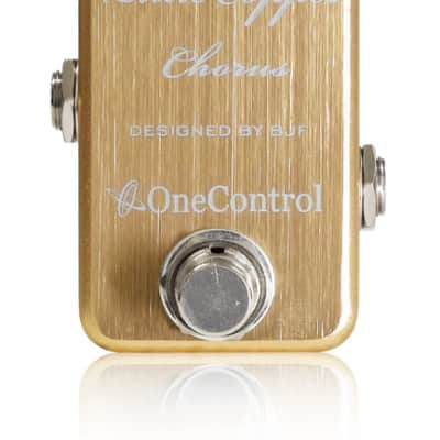 One Control Little Copper Chorus BJF Series FX Guitar Effects Pedal for sale