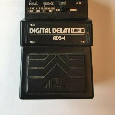 Aria ADS-1 Digital Delay / Sampler Rare Vintage Guitar Effect Pedal MIJ Japan