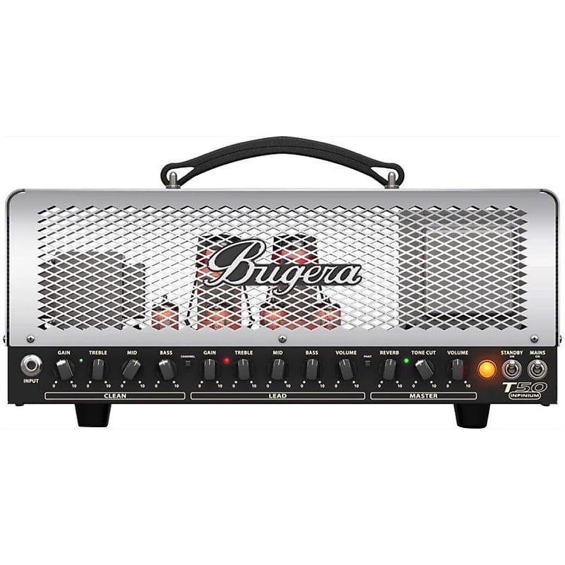 bugera t50 infinium guitar tube amplifier head 50 watts reverb. Black Bedroom Furniture Sets. Home Design Ideas