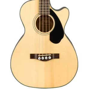 Fender CB60SCE Natural Acoustic Bass for sale