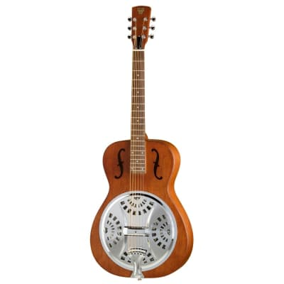 Dobro Hound Dog Round Neck Resonator for sale