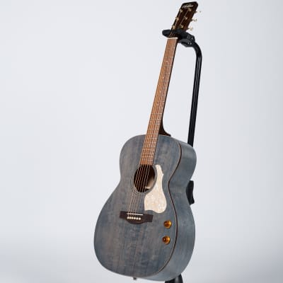Art & Lutherie Legacy Q-Discrete Acoustic-Electric Guitar - Denim Blue for sale