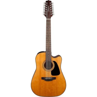Takamine GD30CE 12-String Acoustic/Electric Dreadnought Guitar (Natural)