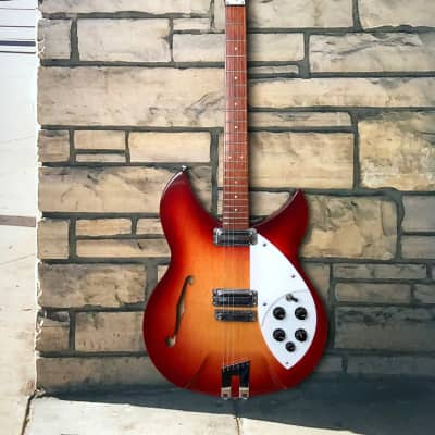 Rickenbacker Rose Morris 1997 Re-Issue Fireglo for sale
