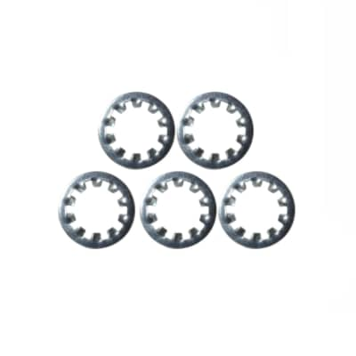 """Washer - Internal Tooth Lock, 3/8"""", Zinc - Set of 5, S-HLW38"""