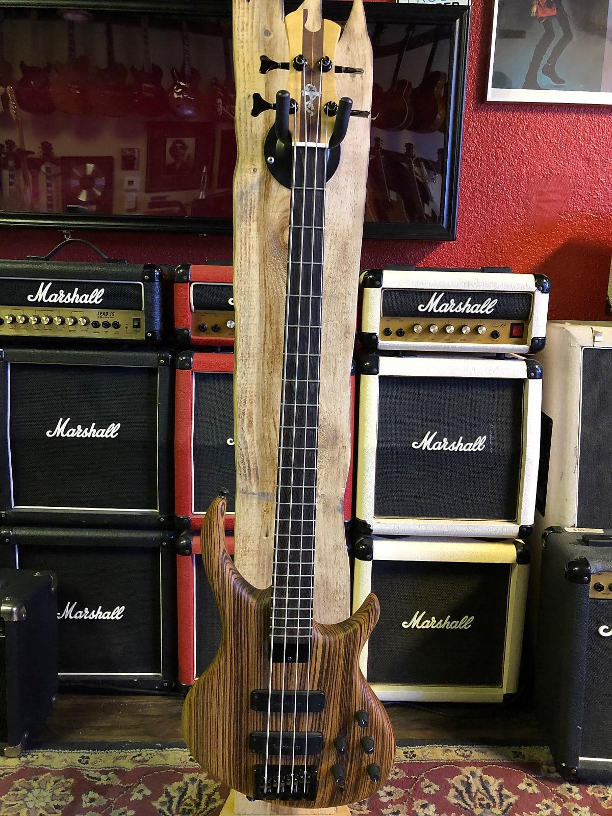 Tobias Killer B-4 Zebrawood Bass