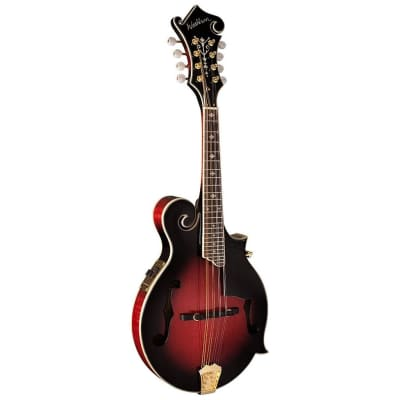 Washburn M3SWE Acoustic Electric All Solid F-Style Mandolin With Case for sale