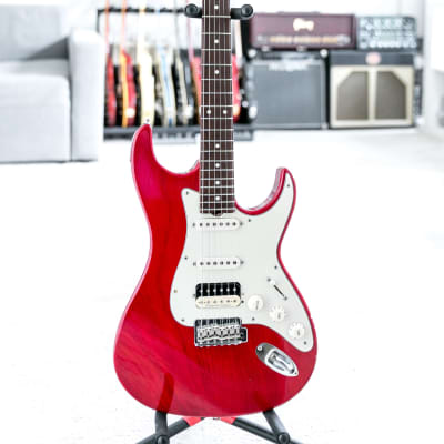 Don Grosh Retro Classic HSS in Red Relic. Low Serial 260. for sale