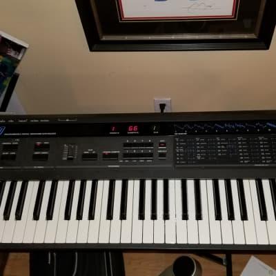Korg DW 8000 Vintage 80's Synthesizer Keyboard