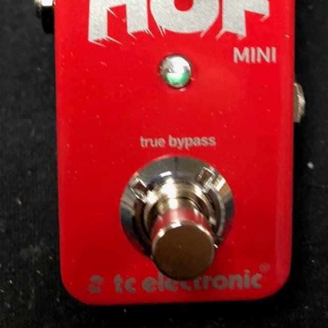 TC Electronic Hall Of Fame Mini Reverb Guitar Effects Pedal Authorized Dealer image