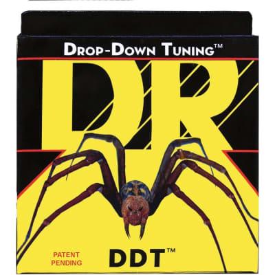 DR Strings DDT Drop Down Tuning Electric Guitar Strings, 11-54, DDT-11