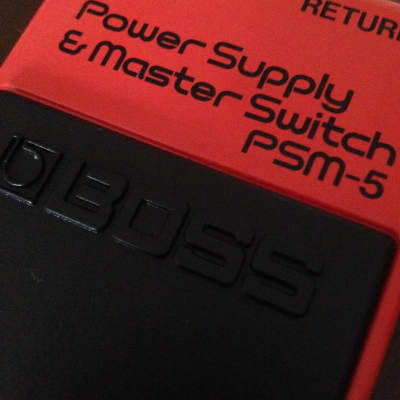 Boss PSM-5 Power Supply/Master Switch (MIJ, red label, 1987)