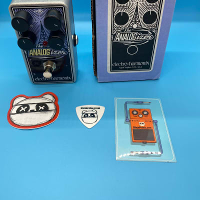 Electro-Harmonix Analogizer Analog Boost / Saturation Pedal w/Original Box | Fast Shipping!