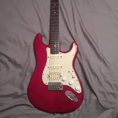 Fender American Deluxe Fat Stratocaster Electric Guitar w/Hardshell Fender Case for sale