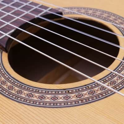 1973 Oscar Teller Model 5 Spruce Classical Guitar German Luthier Handcrafted Hauser Hanika w/ HSC for sale