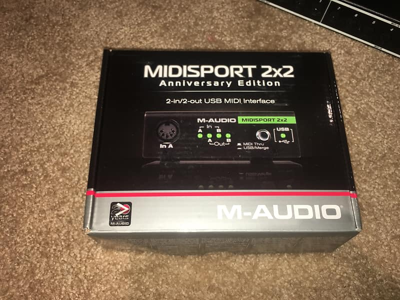 m audio midisport 2x2 anniversary edition usb midi interface reverb. Black Bedroom Furniture Sets. Home Design Ideas