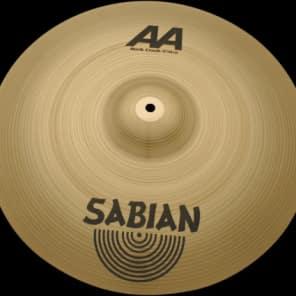 "Sabian AA 19"" Rock Crash Natural Finish"