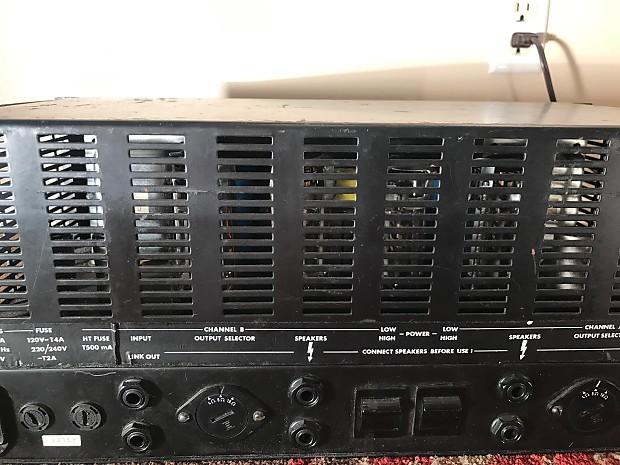 Marshall 9000 Series Rack Mount Power Amp 1980s Black Reverb