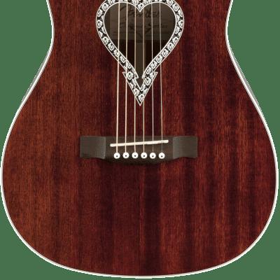 Fender Alkaline Trio Malibu Walnut Fingerboard Natural Acoustic Guitar for sale