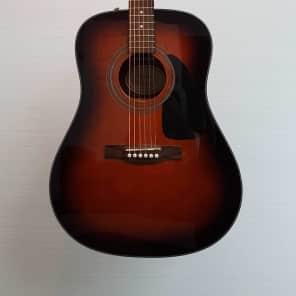 Fender CD60 Sunburst Acoustic Guitar (E.X.) for sale