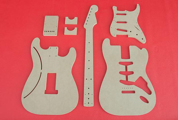 Stratocaster 1958 1965 Vintage Guitar Router Template Set Reverb