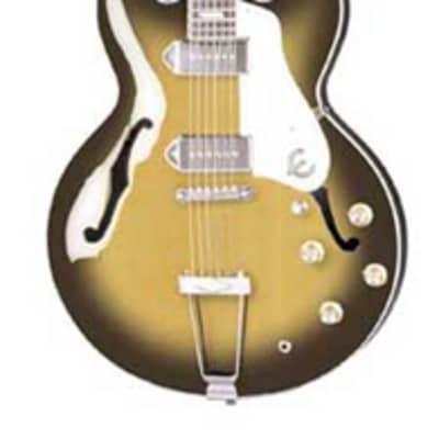 Epiphone Casino Archtop Hollowbody Electric Guitar Vintage Sunburst