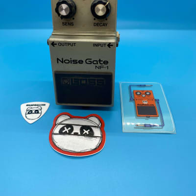 Boss NF-1 Noise Gate | Rare Made in Japan Black Label | Fast Shipping!