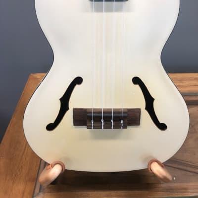Kala KA-JTE/MTW Archtop Acoustic/Electric Tenor Ukulele w/ Pickup