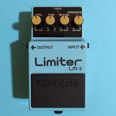 Boss LM-2 Limiter made in Japan 1987 near mint w/box & manual