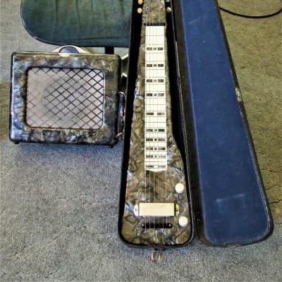Super Rare 1947 Kiesel Lap with Matching  Amp 1947 Emerald MOT