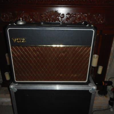 Vox AC30/6 Top Boost copper panel combo 1963/64 Black w/road case
