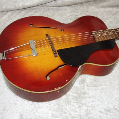 Vintage 1935 Gretsch Model 35 American Orchestra arch top hollow body acoustic for sale
