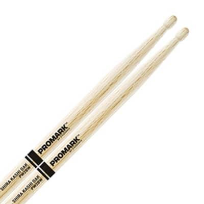 Pro-Mark PW2BW Shira Kashi Oak 2B Wood Tip Drum Sticks (Pair)