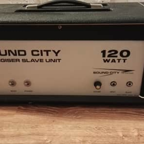 Vintage  Sound City Energiser Slave Unit 120w tube amp,  (Pre Hiwatt) for sale