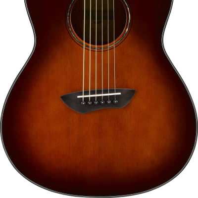 Yamaha CSF1M TBS Acoustic/Electric Parlor Guitar | Tobacco Sunburst