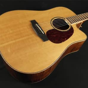 Takamine EG350SC LEFT HANDED Dreadnought Cutaway Acoustic/Electric - Natural (675) for sale