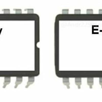 E-mu Vintage Keys - Version 1.03 Firmware Update Upgrade OS Eproms kit emu