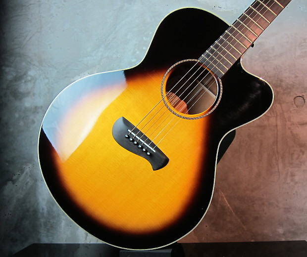 tacoma guitars em 19csb 2000 sunburst wakuya reverb. Black Bedroom Furniture Sets. Home Design Ideas