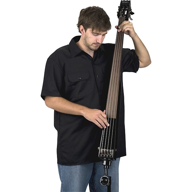 dean pace upright bass guitar w stand case andreas reverb. Black Bedroom Furniture Sets. Home Design Ideas