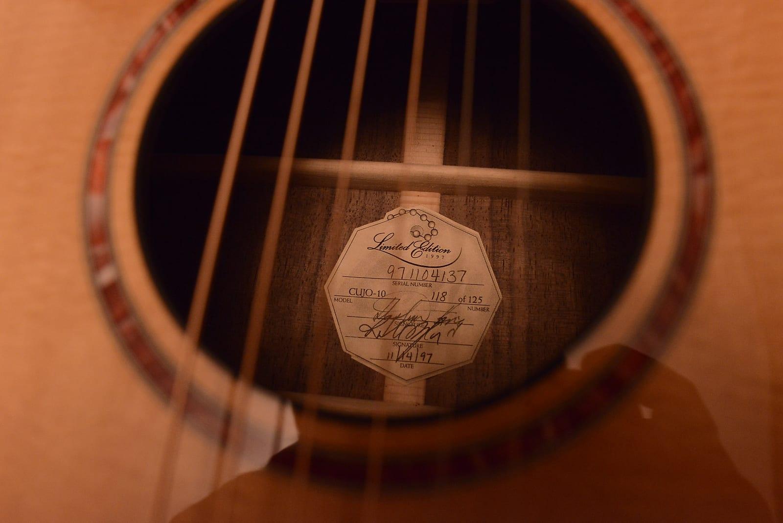 taylor guitars serial number