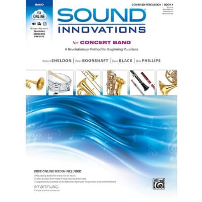 Sound Innovations for Concert Band: A Revolutionary Method for Beginning Musicians - Combined Percussion | Book 1 (w/ DVD)