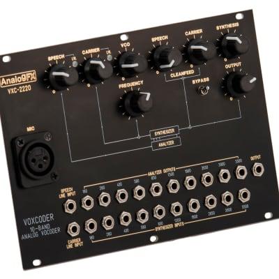 AnalogFX - VXC-2220 - Eurorack Analog Vocoder - Inspired by the Syntovox 222