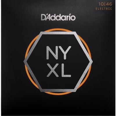 D'Addario NYXL1046 Nickel Wound Regular Light Electric Guitar Strings 10-46