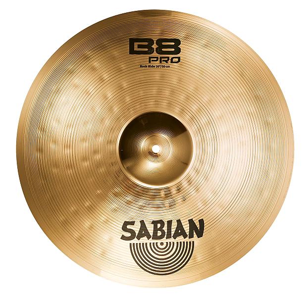 sabian 20 b8 pro rock ride cymbal reverb. Black Bedroom Furniture Sets. Home Design Ideas