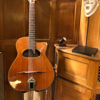 CSL  Maccaferi D hole (Japan) 1970's with Resonator like original Macaferries for sale
