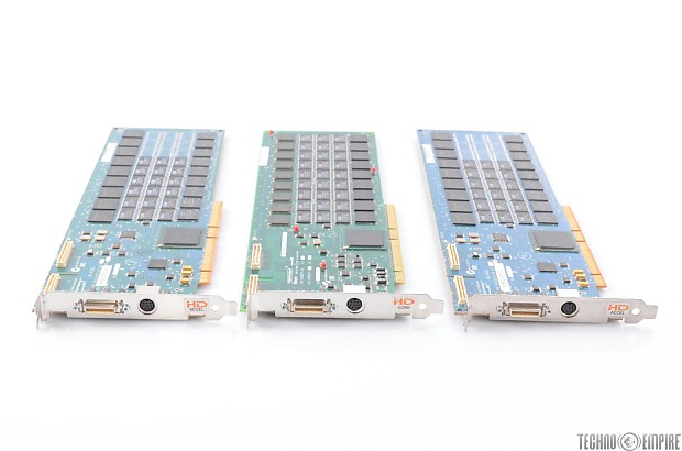 Digidesign HD3 HD Core & 2 Accel PCI Interface Cards For Pro Tools #28150
